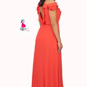 ellen μοντελο φοραει maxi φορεμα