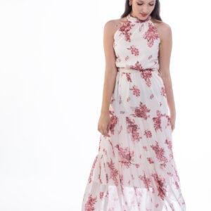 ellen μοντελο φοραει φορεμα με τσοκερ