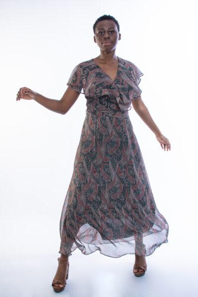 ellen μοντελο φοραει lahour φορεμα